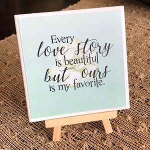 Love Story Home Decor